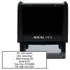 6 Line Address Stamp | STA-LAS-6LN