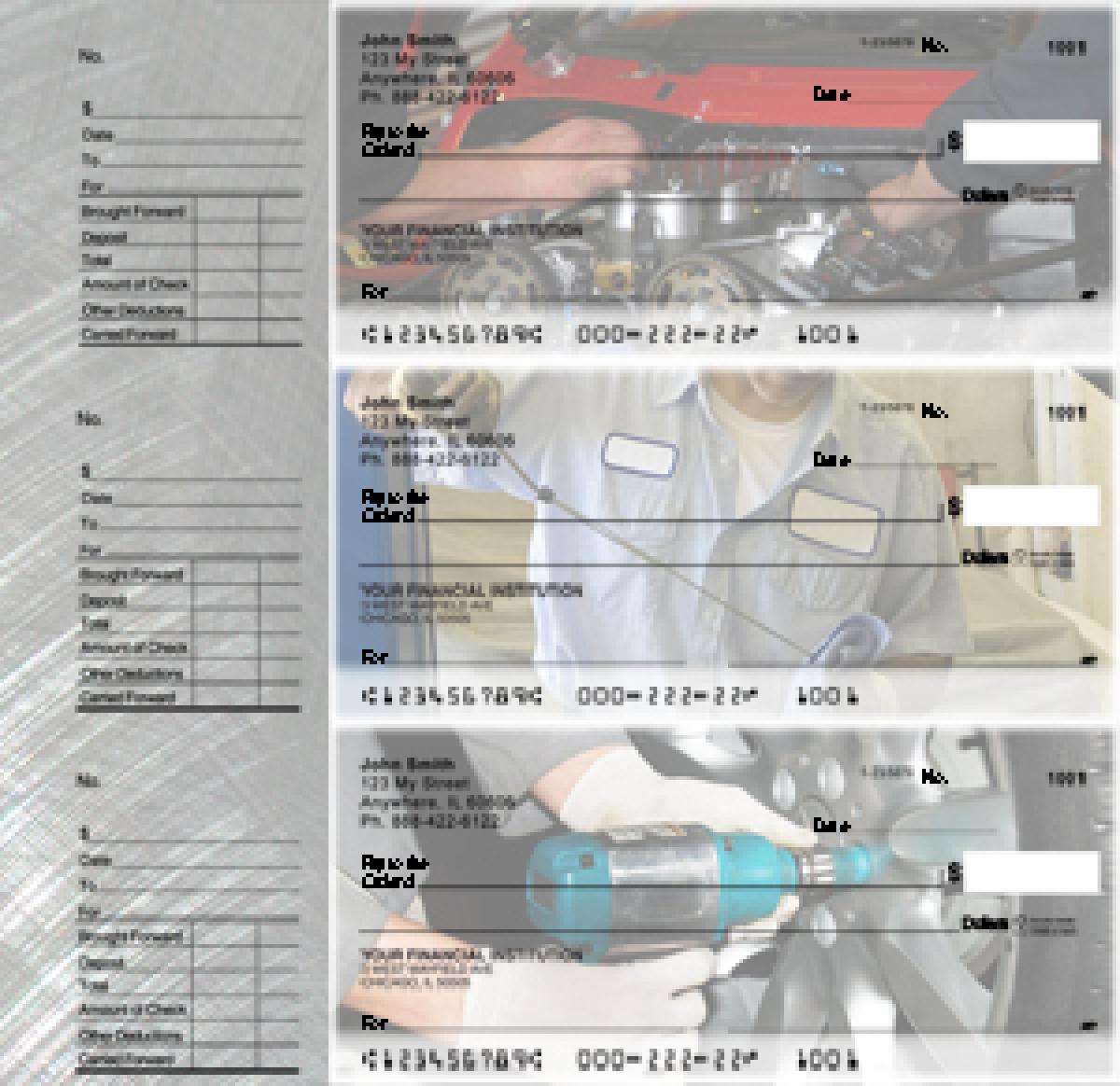 Mechanic Designer Deskset Checks