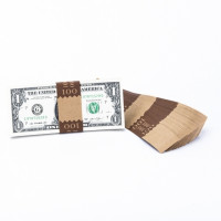 Natural Saw-Tooth $100 Currency Bands | CBKN-003