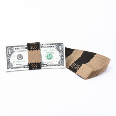 Natural Saw-Tooth $200 Currency Bands | CBKN-004