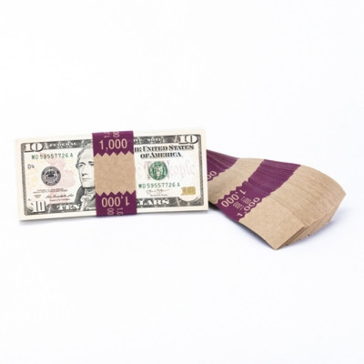 Natural Saw-Tooth $1,000 Currency Bands | CBKN-007