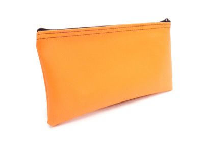 Orange Zipper Bank Bag, 5.5