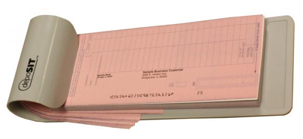 Deposit Book Holder