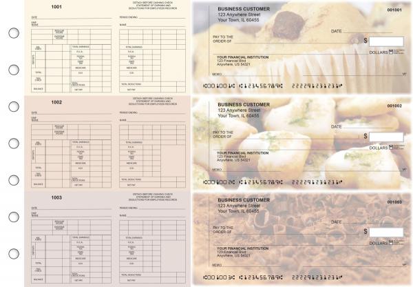 Bakery Multi-Purpose Counter Signature Business Checks