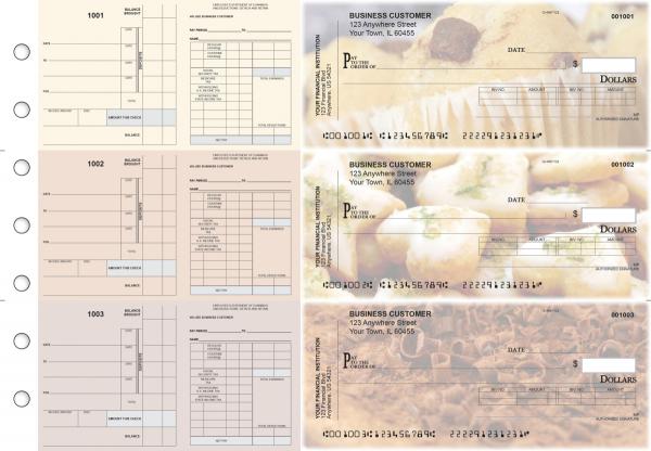 Bakery Payroll Invoice Business Checks