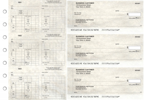 Granite Multi-Purpose Counter Signature Business Checks | BU3-7CDS16-MPC