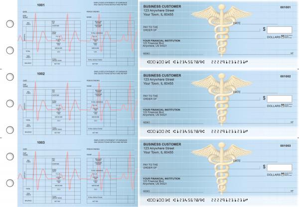 Medical Multi-Purpose Hourly Voucher Business Checks