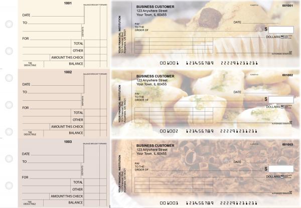 Bakery Standard Invoice Business Checks