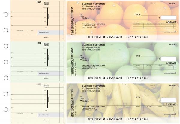 Fruit Invoice Business Checks