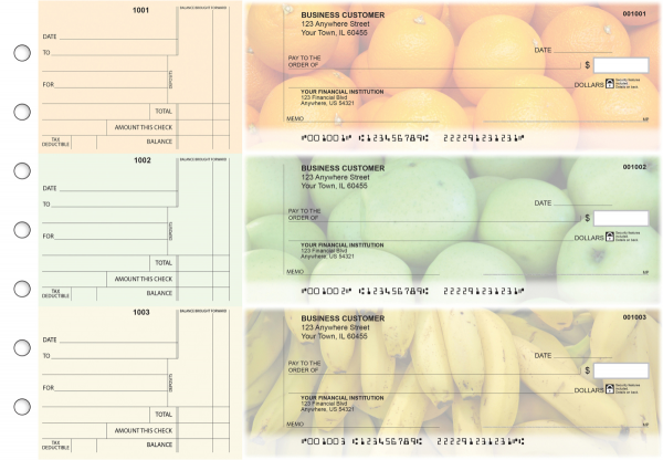 Fruit Standard Counter Signature Business Checks
