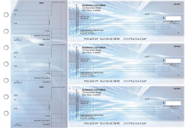 Digital Itemized Counter Signature Business Checks