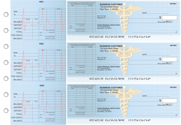 Medical General Itemized Invoice Business Checks