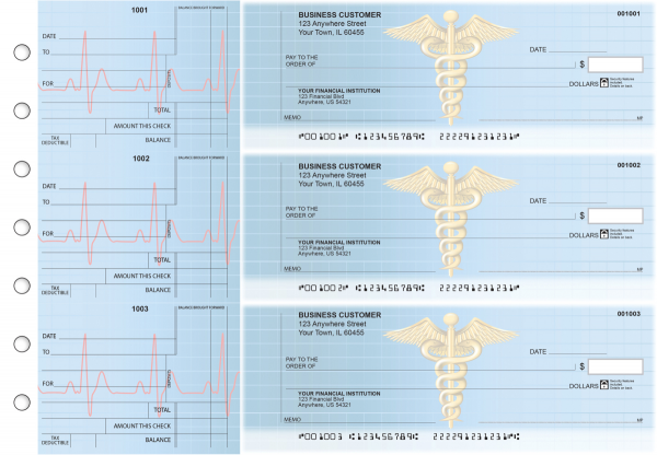 Medical Standard Counter Signature Business Checks