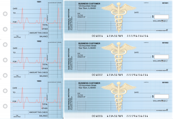 Medical Standard Invoice Business Checks