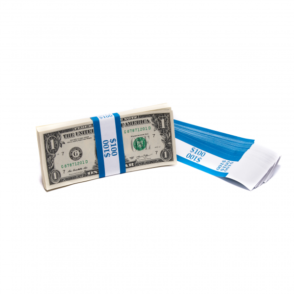 Barred $100 Currency Band