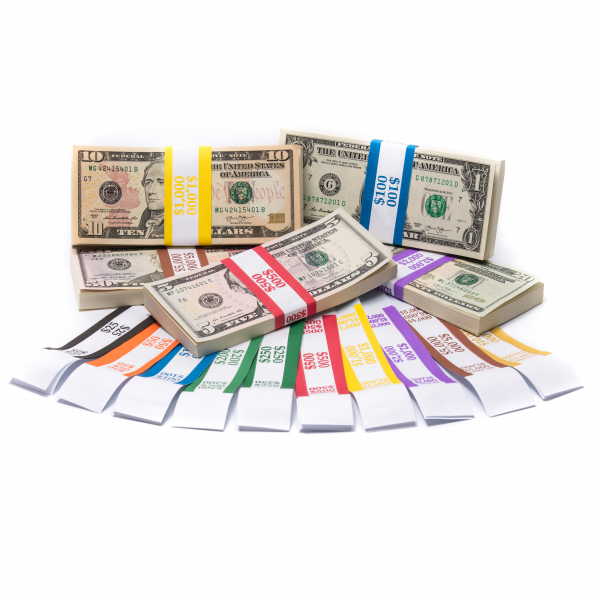 Color-Coded Complete Currency Band Set