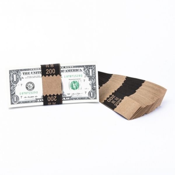 Natural Saw-Tooth $200 Currency Band