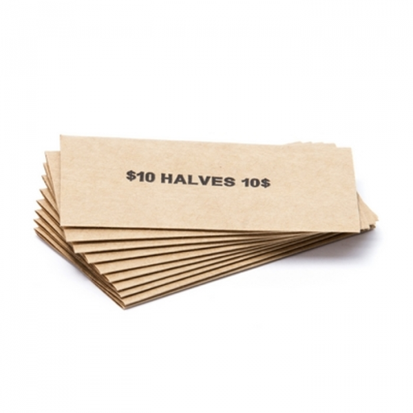 Half Dollar Flat Coin Wrappers