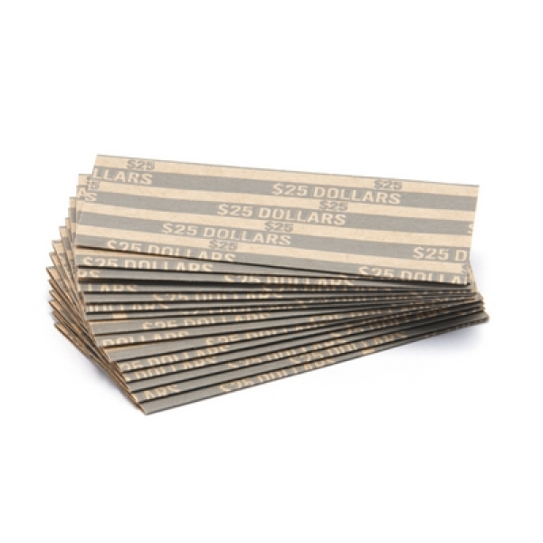 Sacagawea Dollar Flat Striped Coin Wrappers