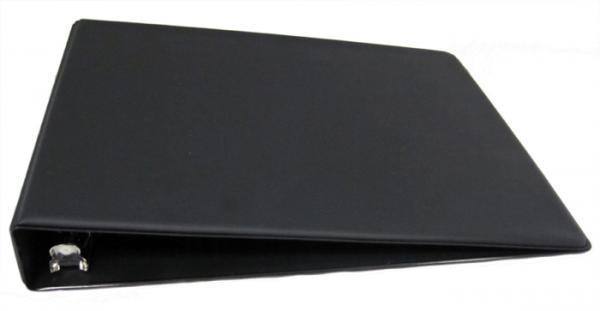 Black Deskset Check Binder
