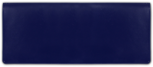 Blue Business  Vinyl Pocket Book Cover