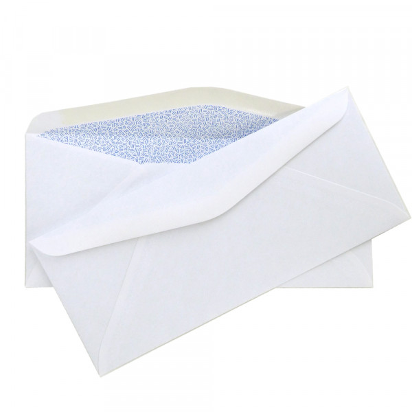 "Envelope Size Class: #9<br> Envelope Closure: Moisture Seal<br> Paper Weight: 24 lb<br> Security Envelopes are ideal for your business task at hand. These envelopes feature a tinted interior lining to keep sensitive information private and secure and are perfect for a variety of applications. The fully gummed seal is strong and dependable, ideal for business and professional use.<br> Dimensions: 3 7/8"" x 8 7/8"""
