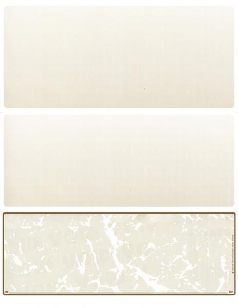 Tan Marble Blank Bottom Laser Checks