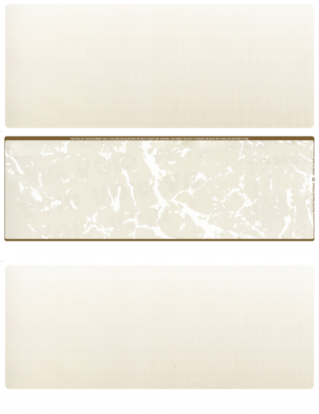 Tan Marble Blank Middle Laser Checks