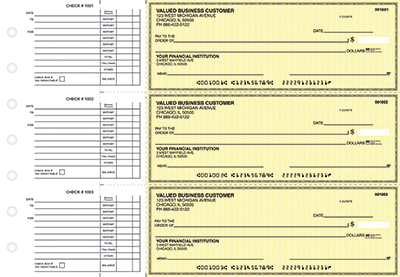Yellow Safety Accounts Payable Business Checks